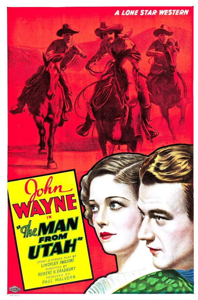 The Man from Utah, 1934 Western movie starring John Wayne