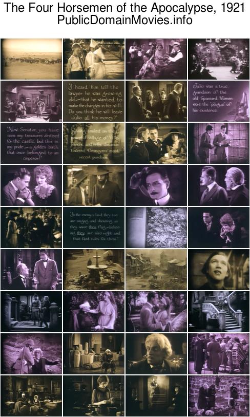 The Four Horsemen of the Apocalypse, 1921 starring Rudolph Valentino