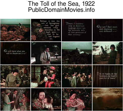 The Toll of the Sea, 1922