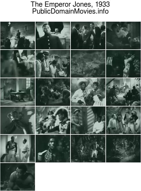 The Emperor Jones, 1933 film