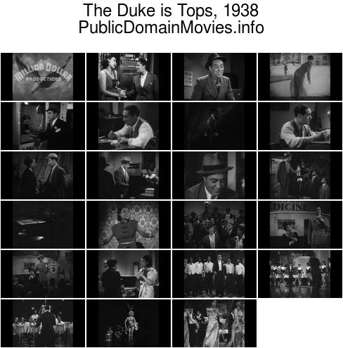The Duke Is Tops, 1938 musical with Lena Horne